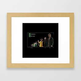 Brenking Bad Oncology Therapy Framed Art Print