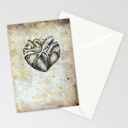 Ancient heart Stationery Cards
