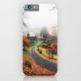 farm in vermont iPhone Case