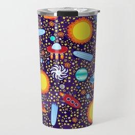 Crazy Cosmos Travel Mug