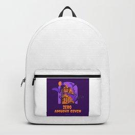 Zero Amucks Given Backpack