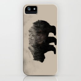 WHEN NATURE TALKS iPhone Case