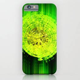 The slime safe - abstract surreal artwork iPhone Case