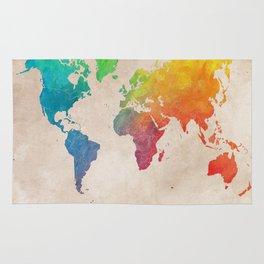 world map 21 Rug
