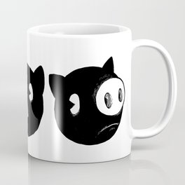 Shapely Piggies Coffee Mug