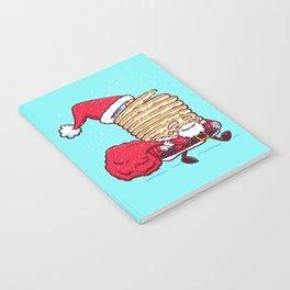 Santa Pancake Notebook