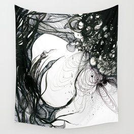 Somber Wall Tapestry