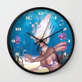 Mermaid! The Most Beautiful Of All Sea Wall Clock