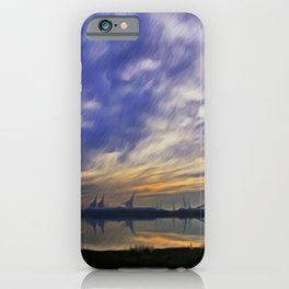 The Docks (Digital Art) iPhone Case