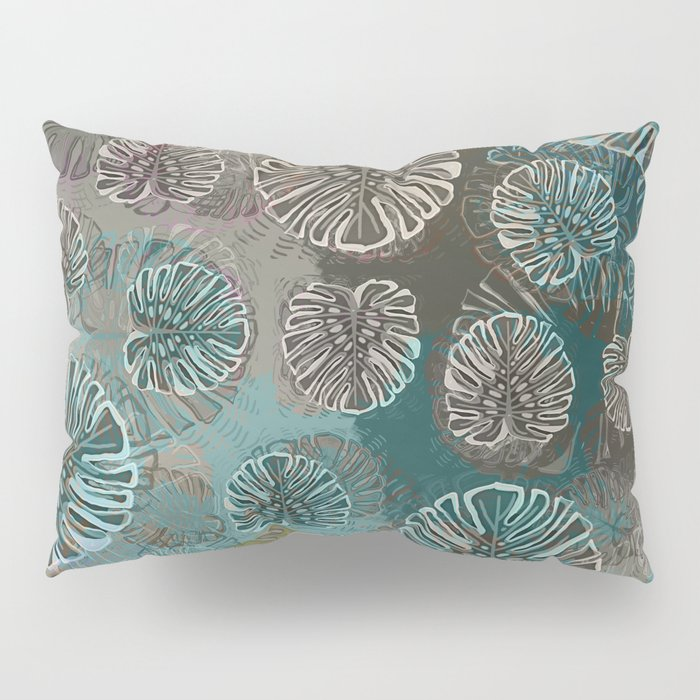 Monstera Style Pillow Sham