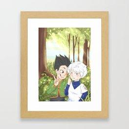 Friendship x Forests Framed Art Print