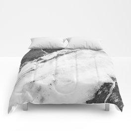 Titan River Black Comforters