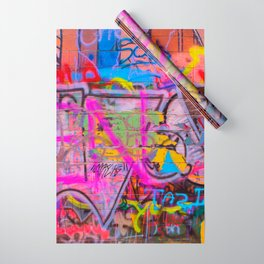 Bright Graffiti Wrapping Paper