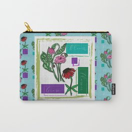 Flower Bloom Grow Carry-All Pouch