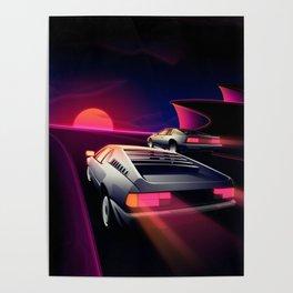 Cliffside Racers Poster