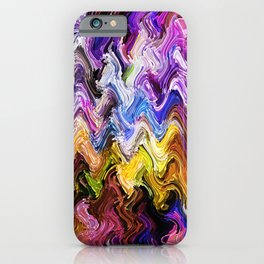 Colorful Wave Series iPhone Case