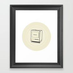 mac Framed Art Print