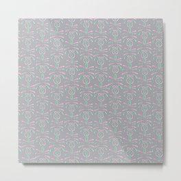 Cereal for Dinner - Geometric Metal Print