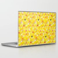 honeycomb Laptop & iPad Skins featuring Honeycomb by Nikky