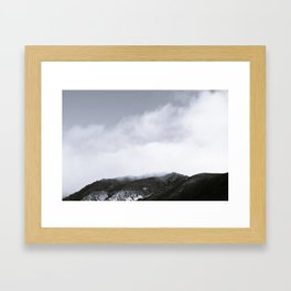 Fog Hill Framed Art Print