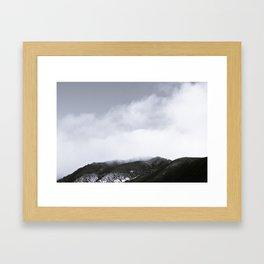 Fog Hill Framed Art Print