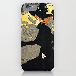 Toulouse Lautrec Divan Japonais music hall iPhone Case