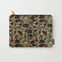 Chihuahua Camouflage Carry-All Pouch