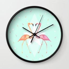 FLaMINGoS Wall Clock
