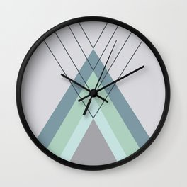 Iglu Mint Wall Clock