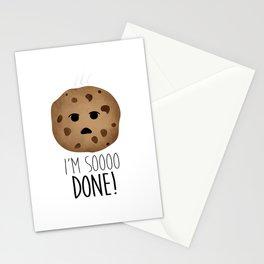 I'm Soooo Done! Stationery Cards