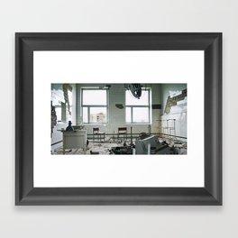Chernobyl - лікарня IV Framed Art Print