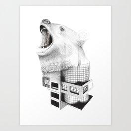 Foliage of Stars: The Bear Art Print