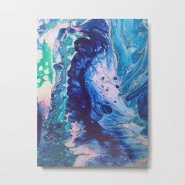 Aquatic Meditation Metal Print