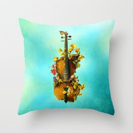 Undying Symphony Throw Pillow