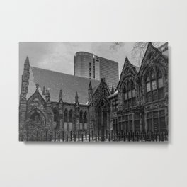 Two Sides To A City Metal Print