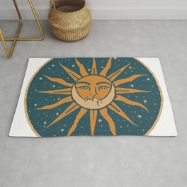 Sun, Moon & Stars Rug