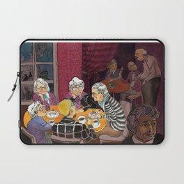 grandmas' tea party Laptop Sleeve