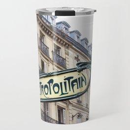 Metropolitain in Paris Travel Mug