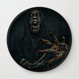 Boogie Horror: Mirror Mask - Bloody Hand Wall Clock