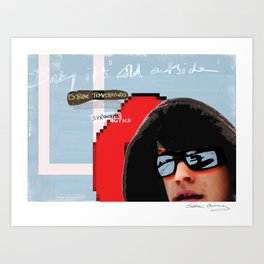 It takes awhile to recover Art Print