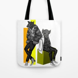Bat Boys of High Fashion Tote Bag