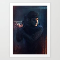 spock Art Prints featuring Spock by eievi