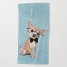 Mr. Chihuahua Beach Towel
