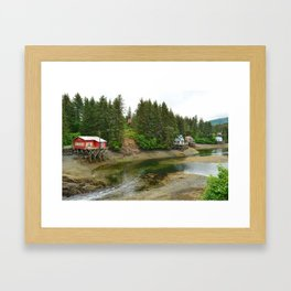 Seldovia Slough - Alaska Framed Art Print