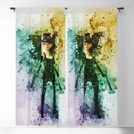 Steampunk Fairy Blackout Curtain