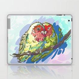 Expressive Parrots Lovebirds Laptop & iPad Skin