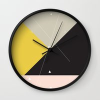 constellation Wall Clocks featuring Constellation by Bambs Hemmings