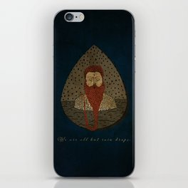 we are all but rain rain drops iPhone Skin
