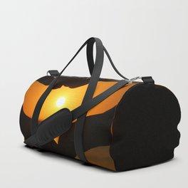 Heart Sunset Duffle Bag