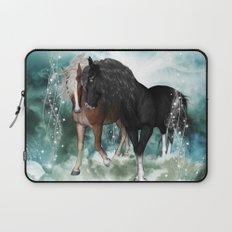 Wonderful couple horses Laptop Sleeve